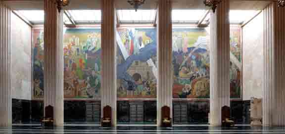 GREAT HALL MURAL