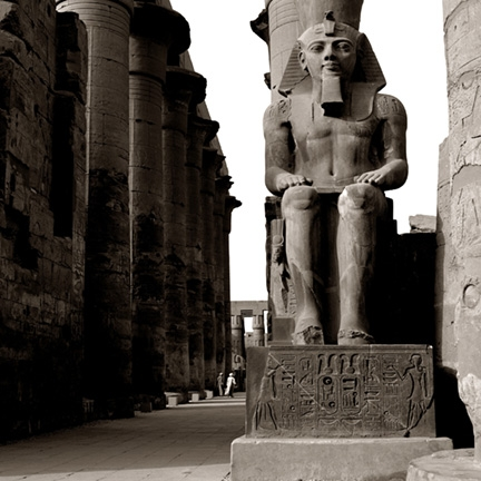 RAMSES AT TEMPLE OF LUXOR