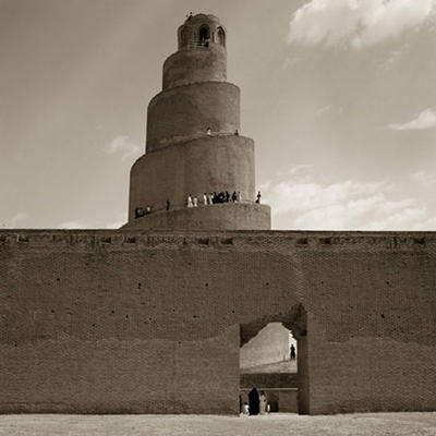 GREAT MOSQUE AT SAMARRA IRAQ