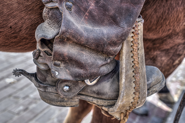 Drover Boot and Spur