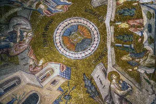 DOME AT CHORA MUSEUM, ISTANBUL