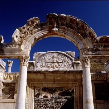 ARCH AT EPHESUS, TURKEY