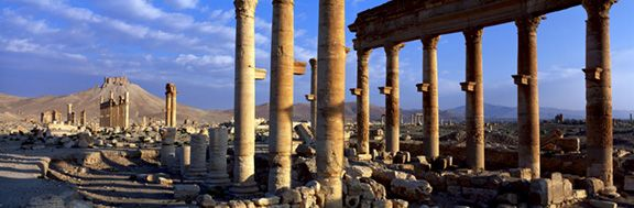 ZANOBIA'S RUINED CITY, PALMYRA SYRIA