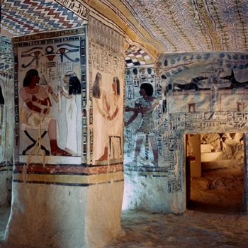 SENNEFER TOMB, KINGS VALLEY, EGYPT