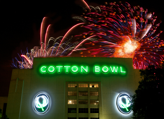 COTTON BOWL LIGHTS