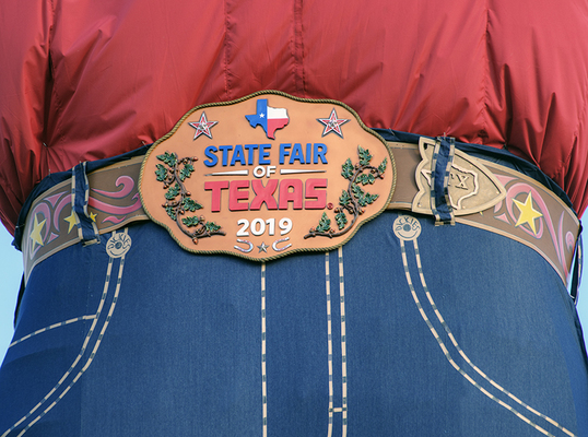 BBIG TEX BELT BUCKLE
