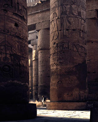 THE SWEEPER AT KARNAK
